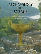 Archaeology Meets Science Biomolecular Investigations In Bronze Age Greece New