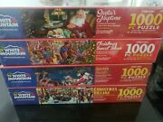 Christmas Collection White Mountain 1000pc Jigsaw Puzzle New Sealed