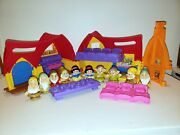 Fisher Price Little People Snow White And Seven Dwarfs Disney Musical Cottage Set