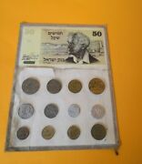 Israel Commemorative Coin Collection 12 Uncirculated Coins Rare