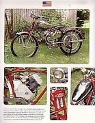 1951 Whizzer Pacemaker Motorbike Article - Must See