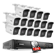 Annke 4k H.265+ Nvr 8mp Poe Home Security Camera System Ip Audio Recording Onvif