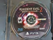 Sony Playstation 3 Ps3   Resident Evil Revelations 2 Disc Only Horror Survival