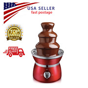 3 Tiers Stainless Steel Chocolate Hot Pot Fountain Auger-style Easy To Clean