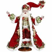Mark Roberts 2021 Collection 51-16272 A Toy For Every Child Santa 25.25 Inches