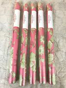 New Discontinued Brunschwig And Fils Shell Toile Wallpaper Double Rolls Lot Of 5