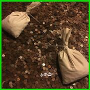 ✯50 Unsearched Wheat Cents Lincoln Pennies Roll✯estate Sale Coins Lot✯1909-58☆