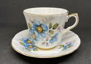 Royal Victoria Bone China Cup And Saucer