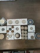 U.s. Old Coin Lot Walking Liberty Indian Head Penny 2 Cent 3 Cent Pieces