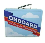 Southwest Airlines Onboard Lunchbox Collectible Airplane Travel Tin Advertisemnt