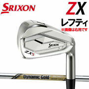 Lefty For Left Sulixonzx Series Zx5 Iron Dynamic Gold Tour Issue Ex Dg Steel