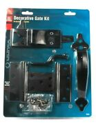 Ultra Hardware 35925 Decorative Gate Kit With Post Latch Vinyl Fence Approved