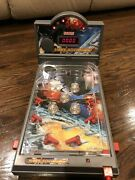 Science Tech Space Adventure Pinball Electronic Tabletop Missing Legs