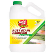 Goof Off No Scent Rust Stain Remover 1 Gal. Spray -case Of 4