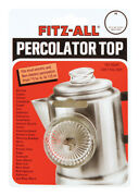 Tops Glass Replacement Percolator Top Clear -case Of 144