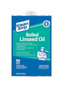 Klean Strip Transparent Clear Boiled Linseed Oil 1 Qt. -case Of 4