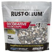 Rust-oleum Epoxyshield Indoor And Outdoor Tan Blend Decorative Color -case Of 6
