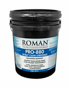 Roman Pro-880 Ultra Clear Strippable High Strength Starch Wallpaper -case Of 36