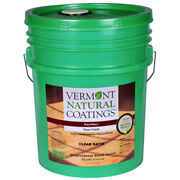 Vermont Natural Coatings Polywhey Satin Clear Water-based Floor Finis -pack Of 1