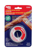 Alpha Fry 3 Oz. Lead-free Plumbing Solder 0.125 In. Dia. Tin/antimony -pack Of 1