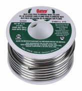 Oatey 8 Oz. Lead-free Plumbing Wire Solder Tin/antimony 95/5 1 Pc. -pack Of 1