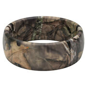 Groove Life Mossy Oak Unisex Round Brown Ring Silicone Water Resista -case Of 40