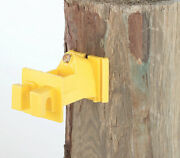 Dare Products Wood Post Insulator Yellow -case Of 20