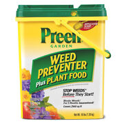Preen Granules Weed Preventer Plus Plant Food 16 Lb. -case Of 40