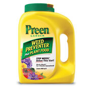 Preen Granules Weed Preventer Plus Plant Food 5.625 Lb. -case Of 120