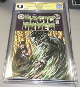 Magic Order 1 Cgc Ss 9.8 Signed And Remarked Anna Zhuo Port City Comics Variant