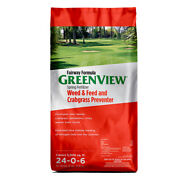 Greenview Weed And Crabgrass 24-0-6 Lawn Fertilizer 5000 Sq. Ft. For A -case Of 48