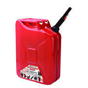 Midwest Can Metal Gas Can 5 Gal. -case Of 4
