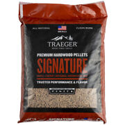 Traeger Signature All Natural Cherry/hickory/maple Hardwood Pellets -case Of 100