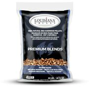 Lousican Grill All Natural Hickory Wood Pellets 40 Lb. -case Of 50
