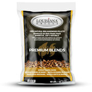 Lousiana Grill All Natural Whiskey Wood Pellets 40 Lb. -case Of 50