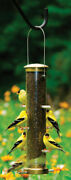 Cole's Nifty Niger Wild Bird And Finch 1.25 Polycarbonate Bird Feeder -case Of 6