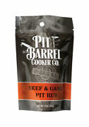 Pit Barrel Cooker Co. Beef And Game Bbq Rub 5 Oz. -case Of 24