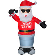 Gemmy Led 72.05 In. Inflatable Animated Rockin Santa -case Of 2