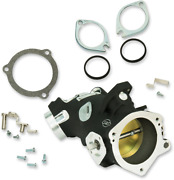 Sands Throttle Body Kit Cable 58mm Size 417 Black Harley Tc 02-05 Softail 01