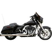 Sands Complete Exhaust 50 State 2 Into 1 Chrome Harley Touring 2007-2016