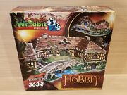 Wrebbit 3d Puzzle The Hobbit Hobbiton 363 Pieces Complete Lord Of The Rings