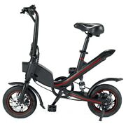 Ouxi V1 12inch Electric Folding Bike For Adults Ebike With 350w Motor 7.8ah Lith