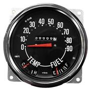 For Jeep Willys 1955-1958 Crown 914845 Speedometer Assembly