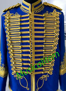 New Hussar Jacket Coat Napoleonic Military General Officers Tunic With Aiguillet