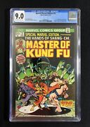 Cgc 9.0 Special Marvel Edition 15 Master Of Kung Fu 1st App Of Shang Chi 1973