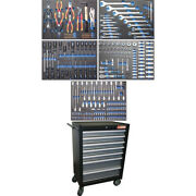 Workshop Trolley Bgs 2001 Complet With 243 Tools - Code Bgs4060 Fbgs4060 Bgs Wo