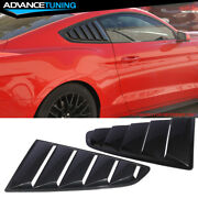 Fits 15-20 Mustang Side Window Louvers Oem Painted Color Hn Guard Metallic