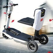 3 Speeds Electric Folding Mobility Scooter 3 Wheels Motorized E-scooter 350w 48v