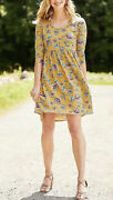 Matilda Jane Xs A Place In The Sun Dress Yellow Spring 3/4 Sleeves High Low T16