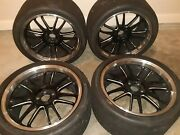 Full Set Volk Racing Re30 19x10 And 19x11 +20 Rays Engineering 5andtimes114.3